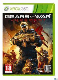 Portada oficial de Gears of War: Judgment para Xbox 360