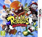 Portada oficial de Rabbids Rumble para Nintendo 3DS