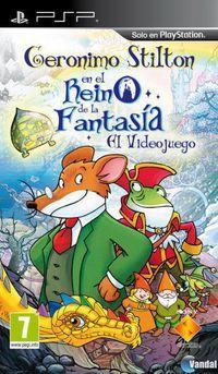 Portada oficial de Geronimo Stilton: El Regreso al Reino de la Fantasía: El Videojuego para PSP