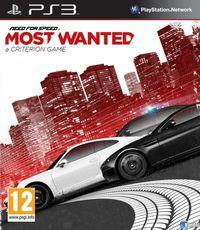 Portada oficial de Need for Speed: Most Wanted para PS3