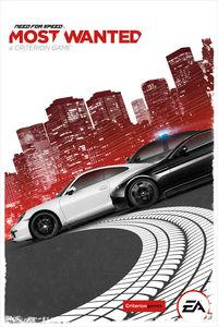 Portada oficial de Need for Speed: Most Wanted para PC