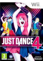 Portada oficial de Just Dance 4 para Wii