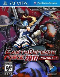 Portada oficial de Earth Defense Force 2017 Portable PSN para PSVITA