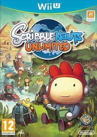 Portada oficial de Scribblenauts Unlimited para Wii U