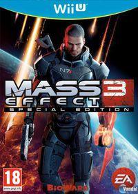 Portada oficial de Mass Effect 3 Edición Especial para Wii U