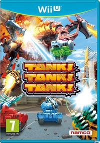 Portada oficial de Tank! Tank! Tank! para Wii U