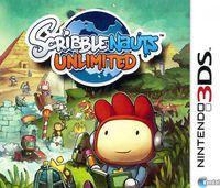 Portada oficial de Scribblenauts Unlimited para Nintendo 3DS