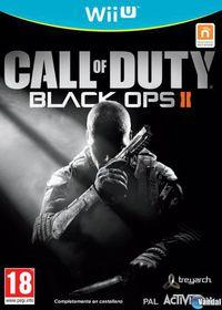 Portada oficial de Call of Duty: Black Ops II para Wii U