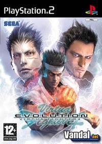 Portada oficial de Virtua Fighter 4 Evolution para PS2