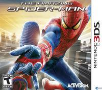 Portada oficial de The Amazing Spider-Man para Nintendo 3DS