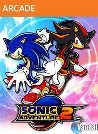 Portada oficial de Sonic Adventure 2 HD XBLA para Xbox 360