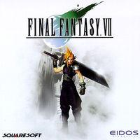 Portada oficial de Final Fantasy VII para PC