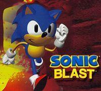 Portada oficial de Sonic Blast CV para Nintendo 3DS