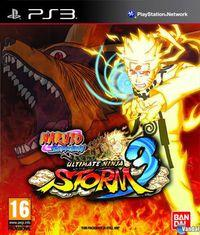 Portada oficial de Naruto Shippuden: Ultimate Ninja Storm 3 para PS3