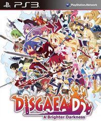 Portada oficial de Disgaea Dimension 2: A Brighter Darkness para PS3