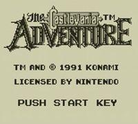 Portada oficial de Castlevania: The Adventure eShop para Nintendo 3DS