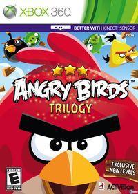 Portada oficial de Angry Birds Trilogy para Xbox 360