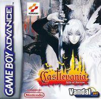 Portada oficial de Castlevania: Aria of Sorrow para Game Boy Advance
