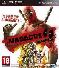 Portada oficial de Masacre para PS3
