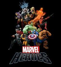 Portada oficial de Marvel Heroes para PC