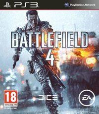 Portada oficial de Battlefield 4 para PS3
