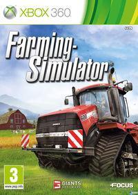 Portada oficial de Farming Simulator 2013 para Xbox 360