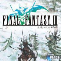 Portada oficial de Final Fantasy III para Android