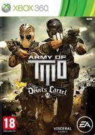 Portada oficial de Army of Two: The Devil's Cartel para Xbox 360
