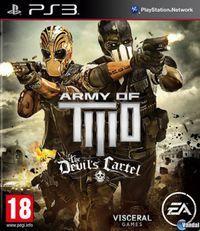 Portada oficial de Army of Two: The Devil's Cartel para PS3