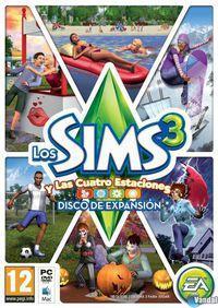 Portada oficial de Los Sims 3 y las Cuatro Estaciones para PC
