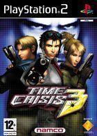 Portada oficial de Time Crisis 3 para PS2