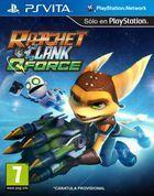 Portada oficial de Ratchet & Clank: QForce PSN para PSVITA