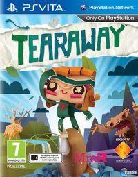 Portada oficial de Tearaway para PSVITA