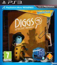 Portada oficial de Wonderbook: Diggs - Detective Privado para PS3