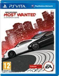 Portada oficial de Need for Speed: Most Wanted para PSVITA