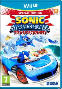 Portada oficial de Sonic & All-Stars Racing Transformed para Wii U