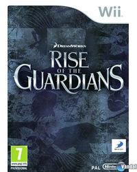 Portada oficial de El Origen de los Guardianes: El videojuego para Wii