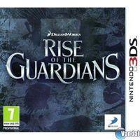 Portada oficial de El Origen de los Guardianes: El videojuego para Nintendo 3DS