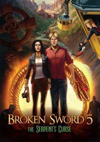 Portada oficial de Broken Sword 5: La maldición de la serpiente para PC
