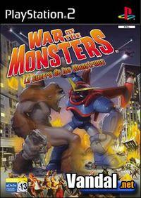Portada oficial de War of the Monsters para PS2