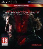 Portada oficial de Metal Gear Solid V: The Phantom Pain para PS3