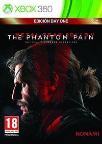 Portada oficial de Metal Gear Solid V: The Phantom Pain para Xbox 360