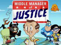 Portada oficial de Middle Manager of Justice para iPhone