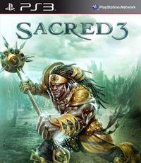 Portada oficial de Sacred 3 para PS3