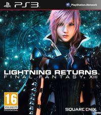 Portada oficial de Lightning Returns: Final Fantasy XIII para PS3