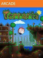 Portada oficial de Terraria XBLA para Xbox 360