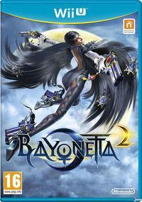 Portada oficial de Bayonetta 2 para Wii U