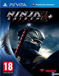 Portada oficial de Ninja Gaiden Sigma 2 Plus para PSVITA