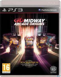 Portada oficial de Midway Arcade Origins  para PS3