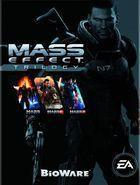 Portada oficial de Mass Effect Trilogía para PS3